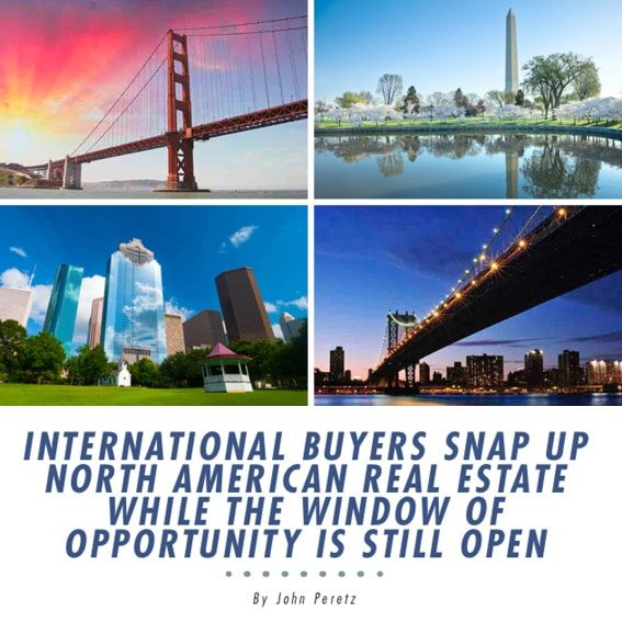 International Buyers Snap Up North American Real Estate