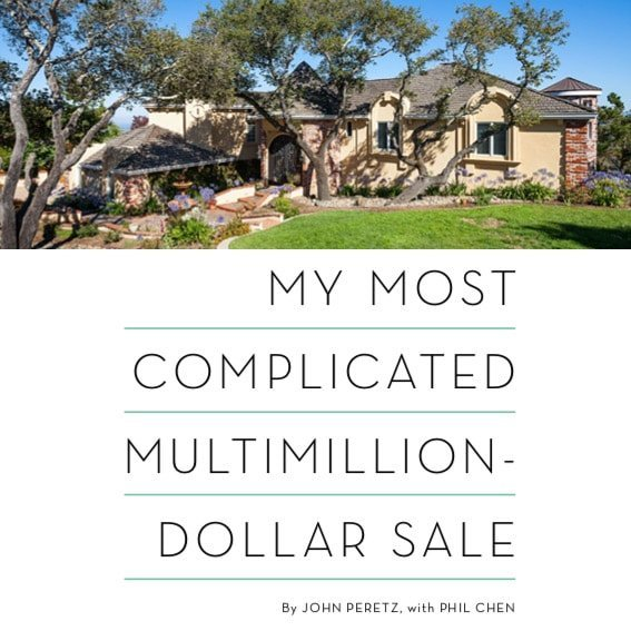 My Most Complicated Multimillion Dollar Sale