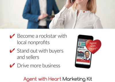 PinRaise Agent with Heart Poster