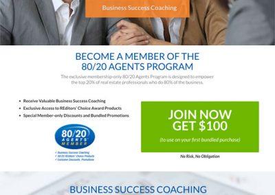 80-20 Agent Website