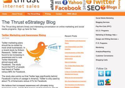 Twitter Marketing and Awareness Rising