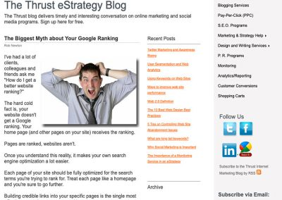 The Biggest Myth about Your Google Ranking