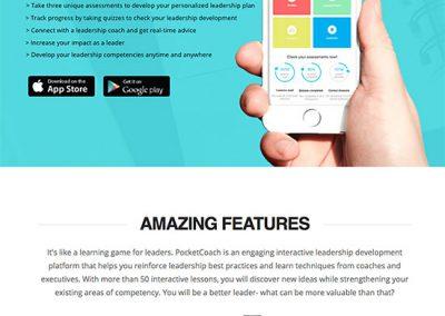 PocketCoach App Website