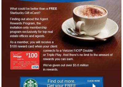 Agent Rewards Email