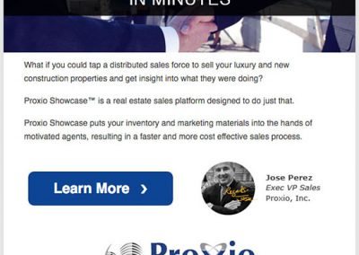 Proxio Drip Email