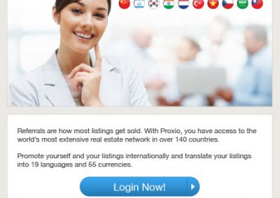 Proxio Profile Email