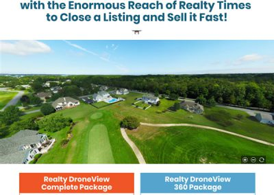Realty Times Drone Landing Page