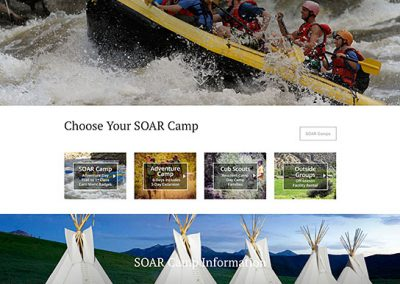 SOAR Camp Website